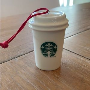Classic 2014 Starbucks holiday ornament.